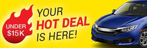 Used Cars For Sale Under $15,000